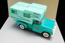Lot 158: Vintage Buddy L Pressed Steel Pick Up Truck With C
