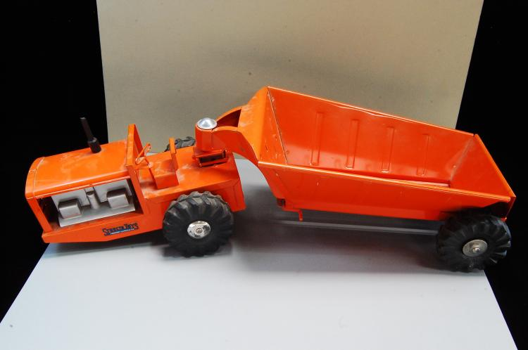 Vintage Structo Toys Belly Dump Earth Mover