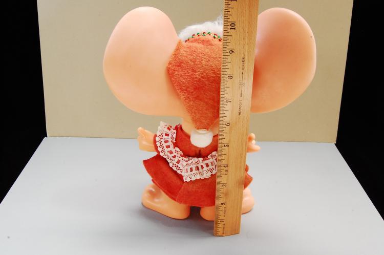 Lot 169: ROY Dee of Fla 1970 Big Ears Mouse Bank like Troll
