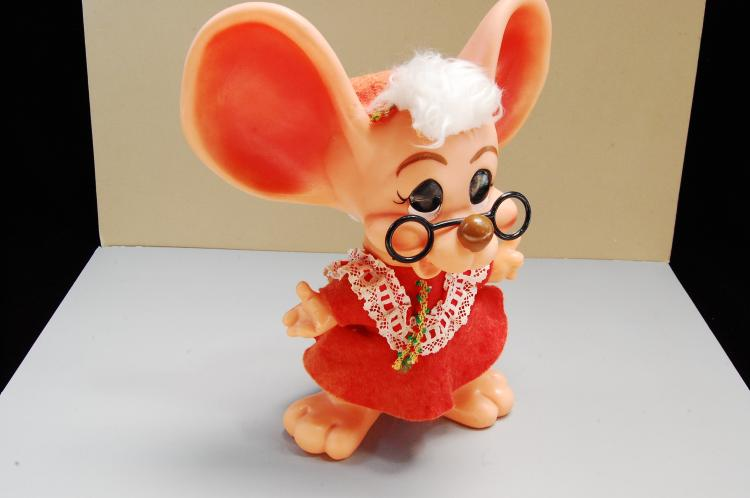 ROY Dee of Fla 1970 Big Ears Mouse Bank like Troll