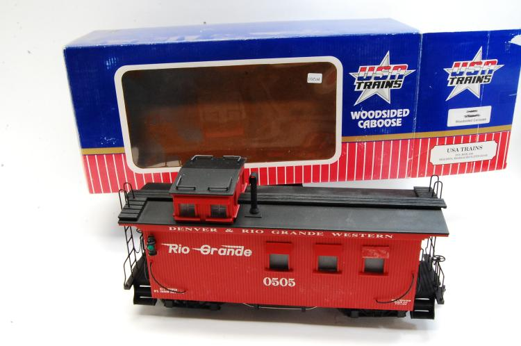 USA Trains Wood Sided Caboose with D&RGW Graffics