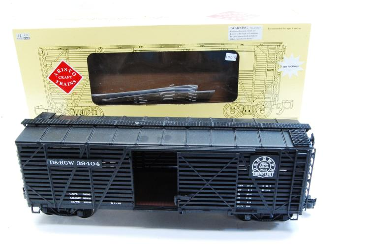 Aristo Craft G Scale D&RGW Steel Stock Train Car