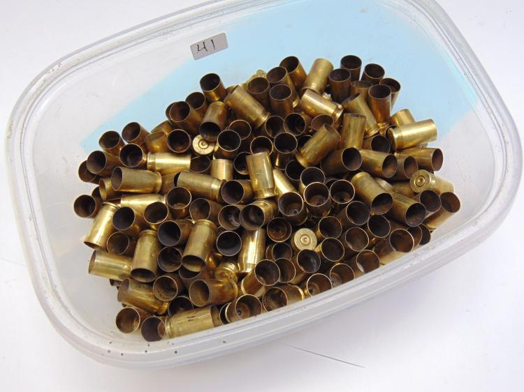 Lot of 100+ .45 ACP Brass Shells for Reloading