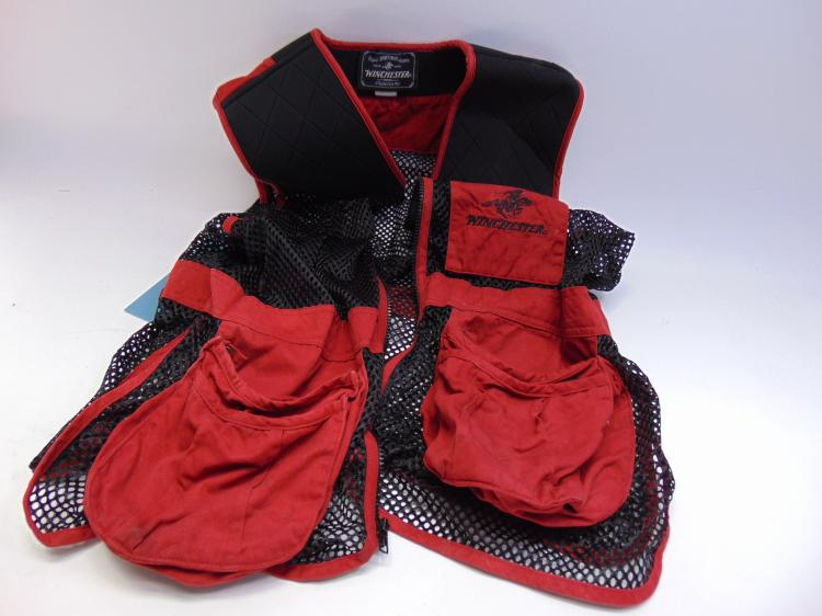 Winchester Red And Black Hunting Vest