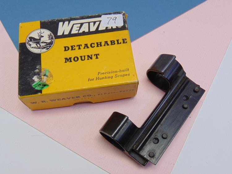 Weaver Detachable 1 Inch Mount