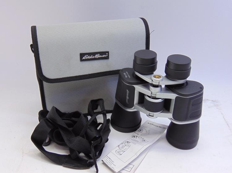 Eddie Bauer 10 X 50 Binoculars in Travel Case