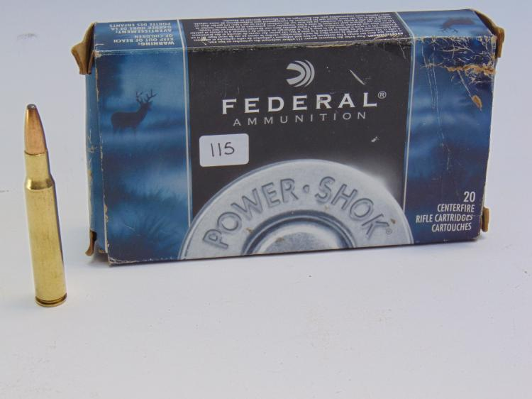 Federal 30-06 Springfield 180gr Box Of Cartridges