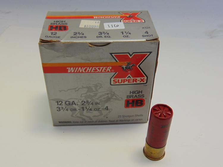 Winchester Super X 12 Gauge Box Of Shotshells