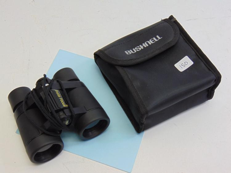 Bushnell Powerview 4X30 Binoculars W/ Case