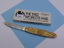 Lot 10A: 1982 Parker Cutlery Worlds Fair Pocket Knife