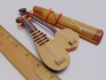 Lot 48: Lot of 3 Miniature Chinese Instruments