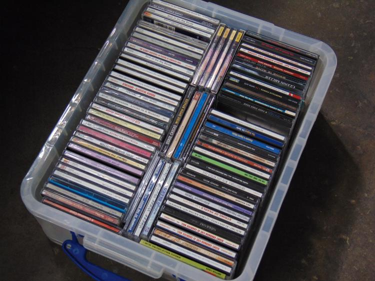 Large Lot of Big Band Swing & Christmas Music CDs
