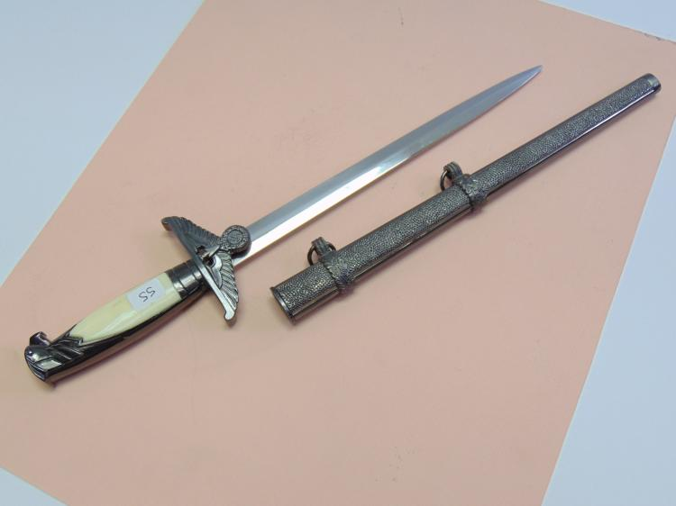 Nazi Style Officer's Eagle Dagger For Display or Letter Opening