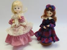 Lot 64: Lot of 2 Vintage Bradley Collectible Dolls