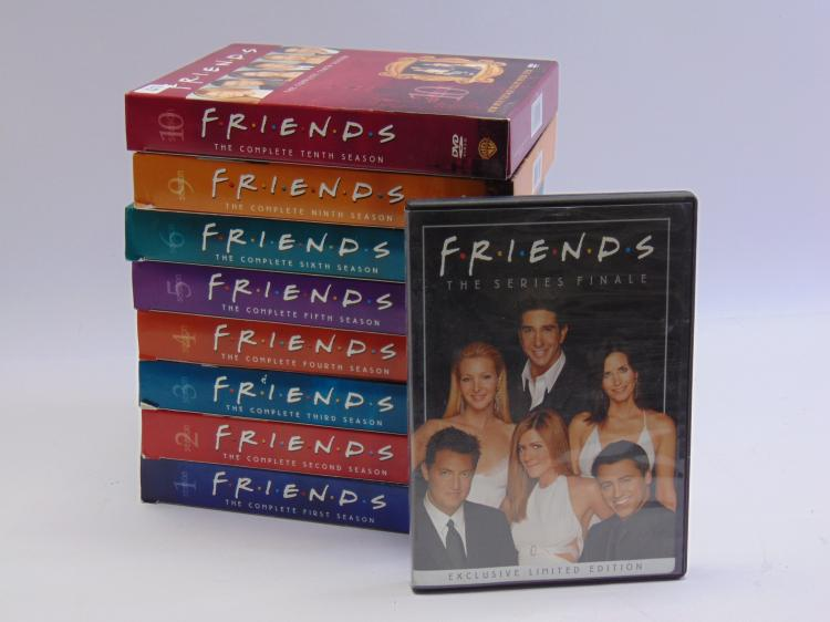 DVD Lot of S1 to S6, S9, S10, & Friends Series Finale