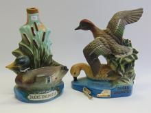 Lot 72: Vintage Lot of 2 Jim Beam Ducks Unlimited Decanters