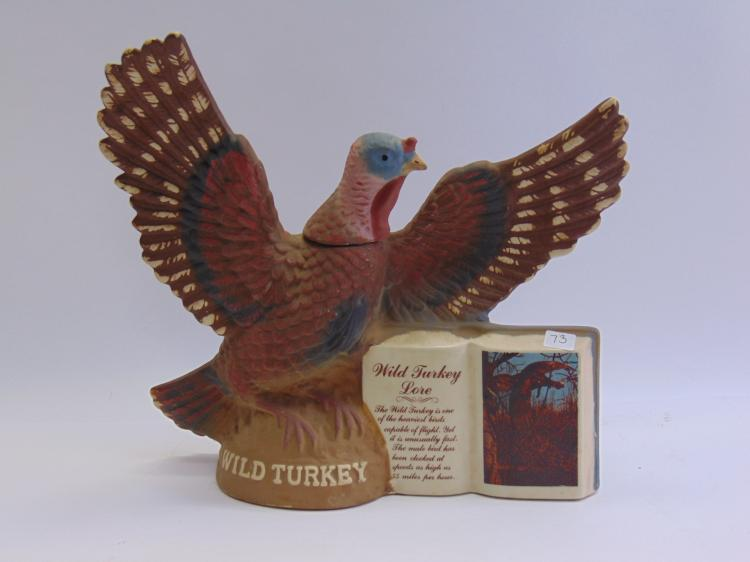 Vintage Wild Turkey Whiskey Decanter