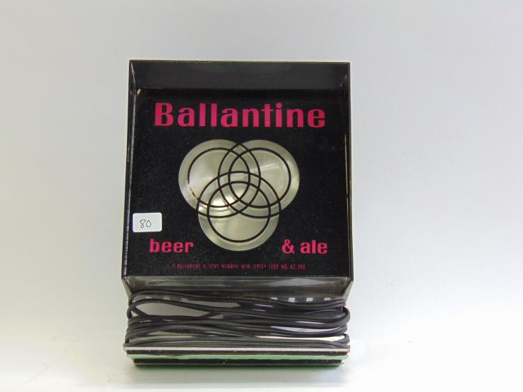 Vintage Benco Plastics Ballantine Beer & Ale Advertising Motion Light