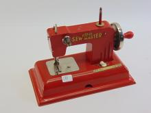 Lot 181: Vintage KAYanEE Sew Master Toy Sewing Machine Made In US Zone Germany