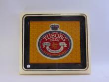 Lot 184: Vintage Thomas Schutz Tuborg Beer Lighted Advertising Sign