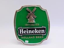 Lot 27: Vintage Heineken Imported Holland Beer Advertising Van Munching Sign