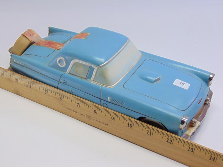 Lot 30: Vintage Ezra Brooks Ford Thunderbird Decanter