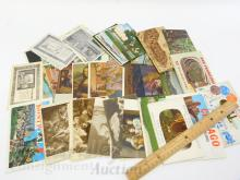 Lot 2: Lot of Vintage US and Foreign Travel Postcards
