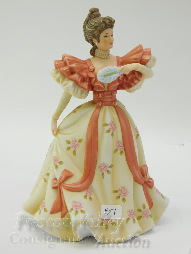 Lenox First Waltz Porcelain Sculpture of a Lady