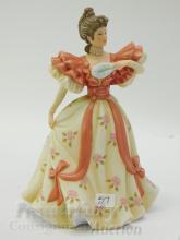 Lot 57: Lenox First Waltz Porcelain Sculpture of a Lady