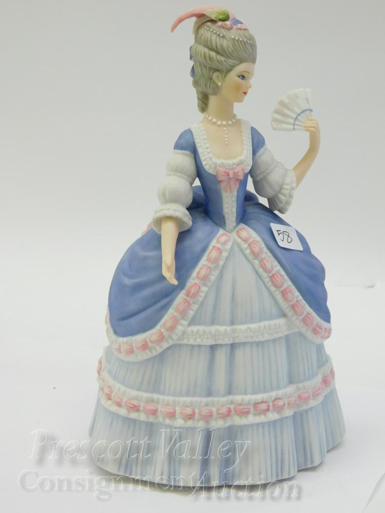 Lenox Governor's Garden Party Porcelain Sculpture of a Lady