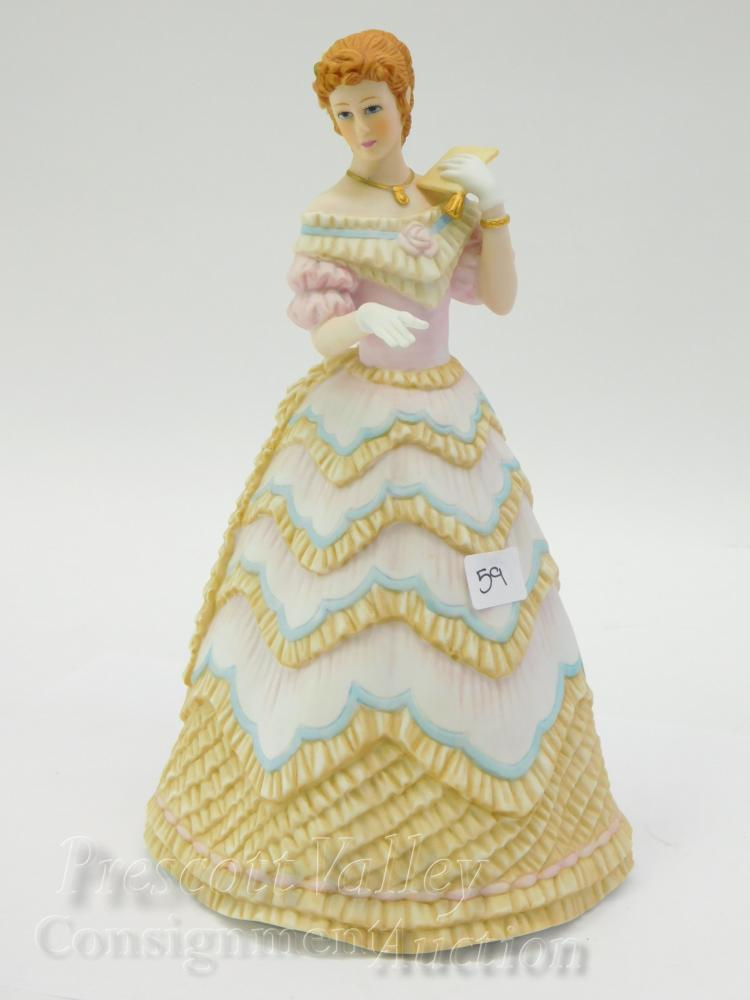 Lenox The Belle of the Ball Porcelain Sculpture of a Lady