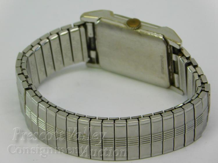 Lot 66: Vintage Wittnauer 10K Gold Filled Men's Manual Wind Wrist Watch