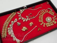 Lot 77: Lot of Vintage Necklaces Bracelets Earrings and Brooches