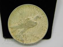 Lot 89: 1922 Peace US Silver Dollar Coin
