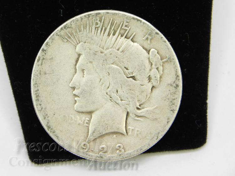 1923 S Peace US Silver Dollar Coin
