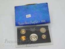 Lot 101: 1968 United States Mint Proof Set