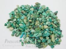 Lot 110: 168.4 Carat Lot of Small Rough Turquoise For Jewelry Making