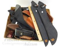 Lot 118: Large Lot of 51 Sheaths Including Gerber SOG and Case XX