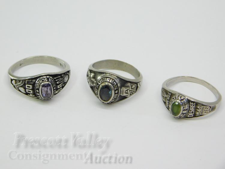 Lot of Class and Sugar Palm Nursery Graduation Rings