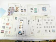 Lot 178: Lot of Vintage US Stamps and Sheets with $17.69 Unused Postage