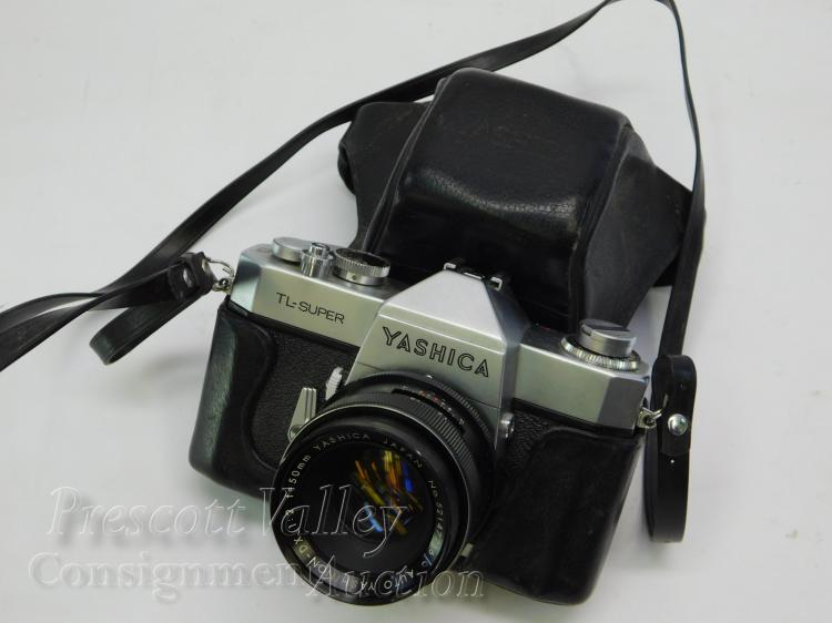 Yashica TL-Super 35mm Film Camera in Case