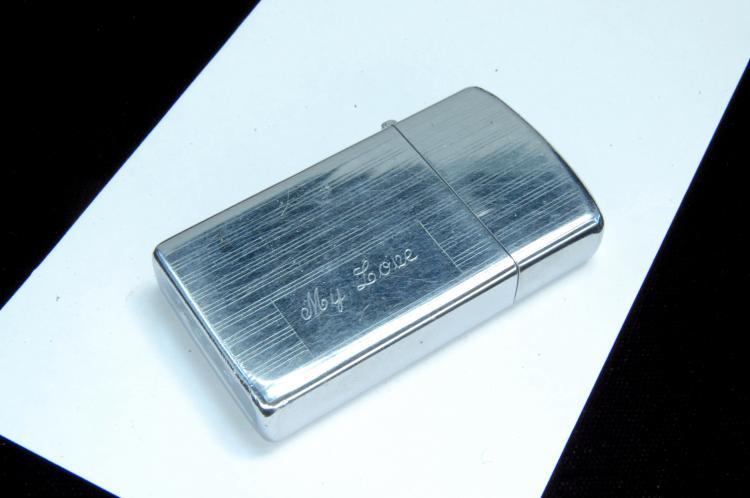 1972 Zippo Slender Case Lighter