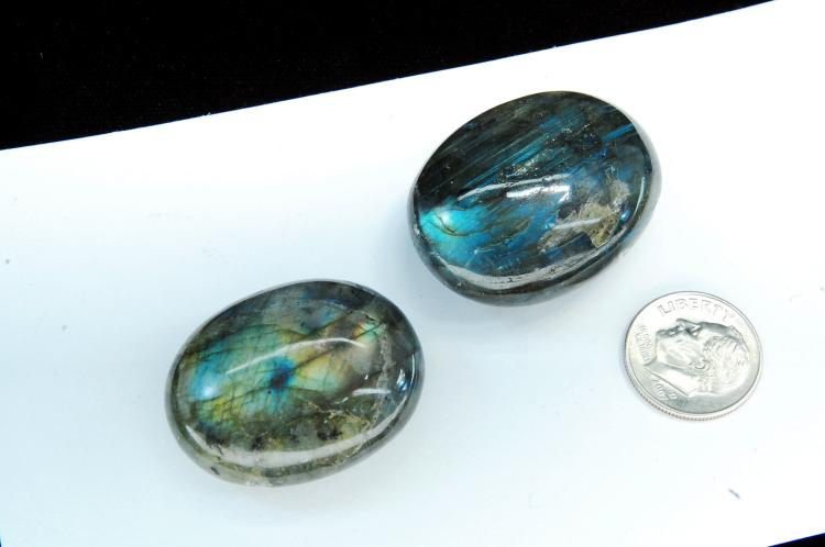 Natural Labradorite Polished Specimen Stone Lot