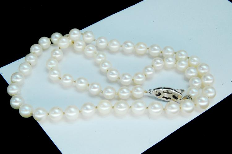 1940's Japan Cultured Pearl Necklace