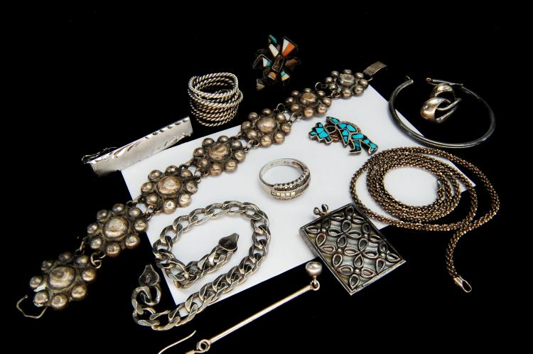 60g Assorted Sterling Silver Scrap Jewelry Lot