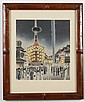 TOMIKICHIRO TOKURIKI (1902-2000, Japan) WOODBLOCK ON PAPER - From the