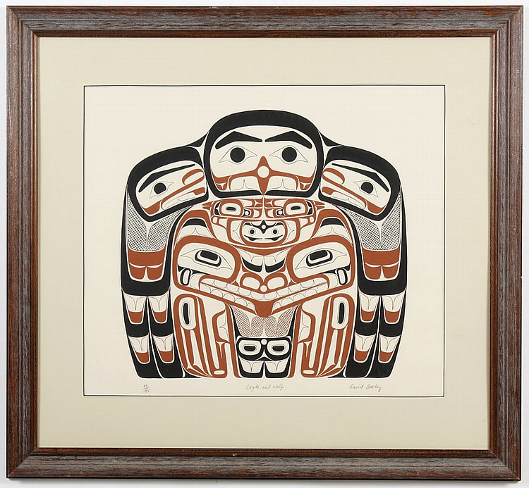 DAVID BOXLEY (1952- , WA) SILKSCREEN ON PAPER - Pencil signed, numbered 49/185 and titled