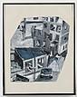 JAY STEENSMA (1941-1994, WA) GOUACHE ON PAPER - Titled