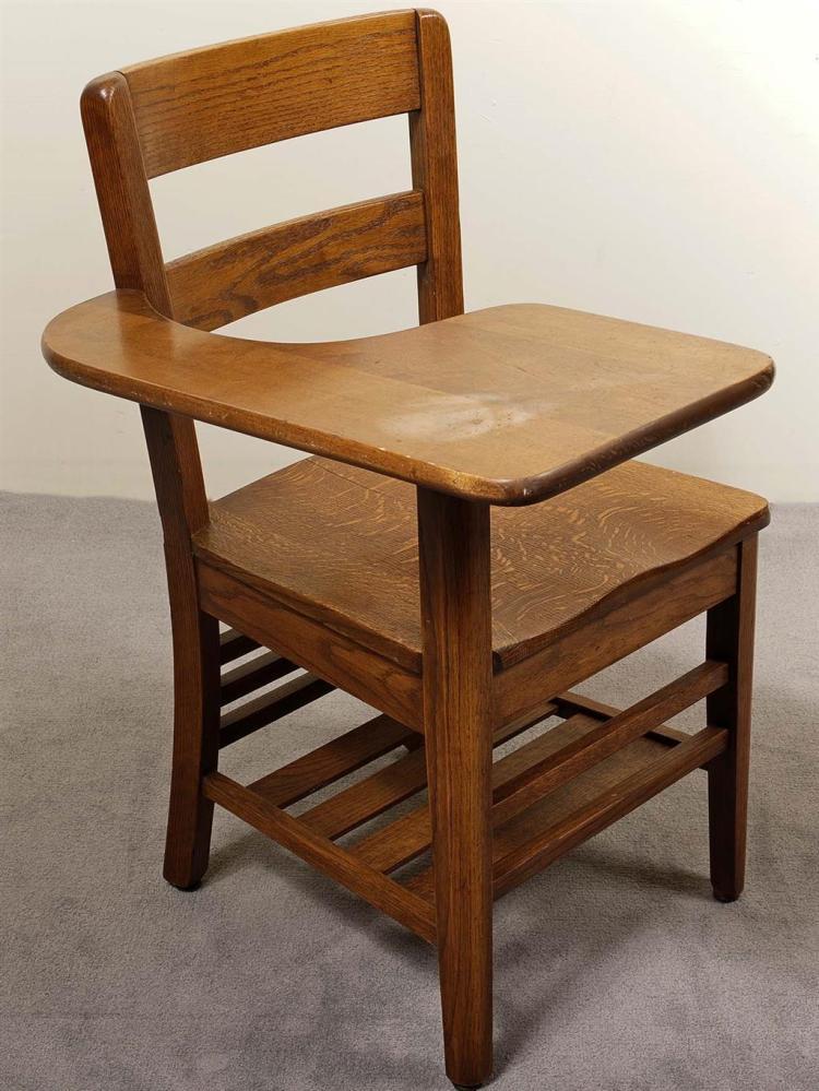 Oak student desk hostgarcia