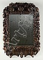 HAND-CARVED ENGLISH WALL MIRROR, Grinling Gibbons, Click for value